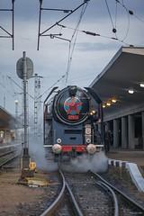 Prague Smíchov (tamson66) Tags: locomotive steam 475179 station smíchov prague train
