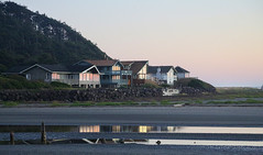 Reflected Sunset (Team Hymas) Tags: reflections sunset beach pacific ocean