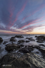 Fingers_MG_0934 (Alfred J. Lockwood Photography) Tags: alfredjlockwood nature seascape landscape rocks water sea pacificocean clouds sky sunset dusk bluehour leocarrillostatepark malibu pacificcoast southerncalifornia