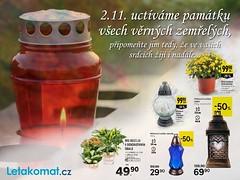 Letákomat - Dušičky (jakub_letakomat) Tags: dušičky halloween letákomat letáky discount shopping nakupování svíčky hřbitov