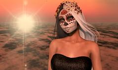 death (Alea Lamont) Tags: ndmd ethnic skins shapes muerta face tattoos death skull dead bride catwa bento head blueberry omega appliers vista laq lelutka genus