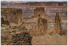 Arch of No-Arch (rssii) Tags: nature scenery landscape canyonlands mesa arch washer woman monster tower desert national park
