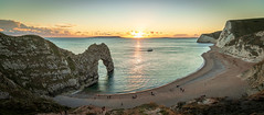 Durdle Door (markwalkerphotographer) Tags: leefilters coast sand manfrotto uk landscapes dorset canonuk durdledoor seascape jurassic arch unesco cove cliffs clifftop england purbeck sunset sea sky water bay landscape people photo durdeldoor canon jurassiccoast southcoast