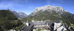The Castle Walls (noname_clark) Tags: vacation europe austria hohenwerfencastle castle panorama mountain werfen