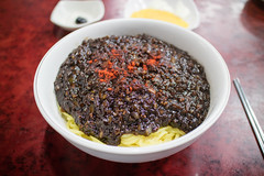 korean Bean Sauce Noodles. (Kim Jin Ho) Tags: black bean sauce chilli radish sweet onion side dish korean chinese