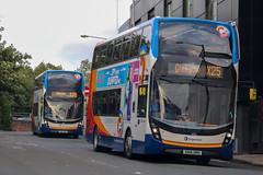 Go Cumbernauld (busmanscotland) Tags: 10521 10518 sn16omh sn16ome stagecoach western sn16 omh ome ad adl alexander dennis e40d enviro 400 enviro400 mmc