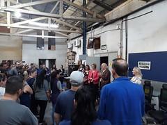 27/09/18 - Visita à empresa Tok Plat Metal. Com o dono Valter Bassani e funcionários.