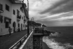 When the summer leaves (muntsa-joan-BW) Tags: blackandwhite bw bnw street streetphoto streetphotography sea beach water