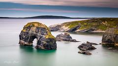 Ireland 2018 - Ballybunion (cesbai1) Tags: virgin rock rocher ireland irlande irlanda irlandia seascape seaside longue exposure pose lente sea mer ocean