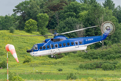 S-61 (Ychocky) Tags: 150500mmf563 cfdch cynd canadianhelicopters gatineauexecutiveairport sigma sikorskys61n ynd