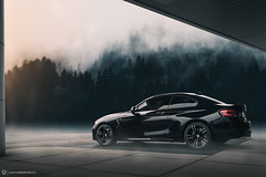 M2 Forest Comp (lucasjohnsonphotography) Tags: bmw bmwusa bmwm bmwm2 composite automotive car m2