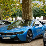 20181007 - BMW I8 - N(2811) - CARS AND COFFEE CENTRE - Chateau de Chenonceau thumbnail