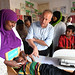 SRSG for Somalia, Michael Keating, Visits Hargelsa