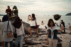 * (Sakulchai Sikitikul) Tags: street snap streetphotography summicron songkhla sony 35mm leica thailand samilabeach sand seascape sea beach selfportrait mermaid a7s