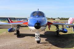 IMG_9637 (routemaster2217) Tags: northweald aviation aeroplane aircraft jetaircraft fighterjet jettrainer trainingaircraft royalnavy rn bz admiralsbarge canfieldhunterltd hawkerhuntert8b rollsroyceavon wv322 gbzse
