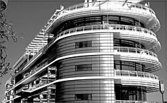 Yacht Club de Monaco (claude lina) Tags: claudelina france provencealpescôtedazur alpesmaritimes monaco building immeuble yachtclubdemonaco normanfoster