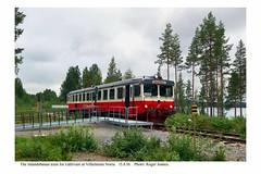 Vilhelmina Norra. Inlandsbanan train for Gällivare. 15.8.18 (Roger Joanes) Tags: sweden vilhelmina railways sverige