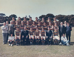 Williamstown CYMS Football Club - 1971 - First Eighteen - Runners Up (DAB Australia) Tags: cyms christian youth young men mens society football footy sport team club suburban suburb williamstown fearon reserve first eighteen runner runners up 1971 kjohnson pfoster djones cfeatherston irosser jkenny jhenry khalley enorton trainer awillimson secretary rfeatherston patron bblott bnorton wcollinder thynes aboddington jstonehouse jrollason dhenry hquarrier masseur ahewitt president jlewer boundaryumpire wrosenszweig nharris coach srieger pzamykal captain dwilkie ecorfield com jsedgeway goalumpire bmoore vicecaptain mward pwebb kfitzgibbon victoria australia au