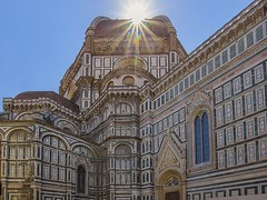 Fiat lux (olivier_kassel) Tags: italy italie florence tuscany toscane cathedral cathédrale church église monument sun soleil sant mariadelfiore duomo