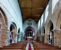 Trinité-Porhoët - Eglise de la Trinité (Martin M. Miles) Tags: latrinitéporhoët nave brittany bretagne morbihan 56 france