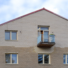 Small Balcony (Mikael Neiberg) Tags: architecture house building helsinki suomi oldhouse apartmenthouse