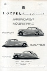 1951 Hooper Touring Limousine Empress Saloon Two Door Sport Saloon English Original Magazine Advertisement (Darren Marlow) Tags: 1 5 9 19 51 1951 a s saloon c car cool collectible collectors classic automobile v vehicle e english england british britain 50s h hooper empress r rolls royce bentley touring l limousine t sports
