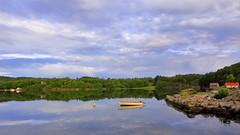 Slåttevik juni -17 (bjarne.stokke) Tags: tysvær rogaland norway norge norwegen skyer speiling reflections