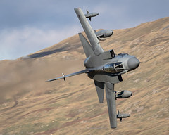 GR4 Tornado low level in stunning light (Danny Jones 1992) Tags: gr4 tornado raf marham low level lfa7 fly area machloop mach loop north wales snowdonia military aviation fighter jet pilot royal air force