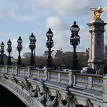 Pont Alexandre III, 1897-1900, Paris VIIe, Île-de-France, France. thumbnail
