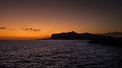 Sunset - Favignana - Italy (I. Bellomo) Tags: sunset sunrise favignana marettimo trapani blu blue sky red fujifilm foto sicily