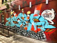 Re-Construction by Zesoner (wiredforlego) Tags: graffiti mural streetart urbanart publicart aerosolart eastvillage manhattan newyork nyc zesoner