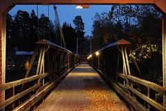 Golden gatebron (Annica Spjuth) Tags: bro fotosondag fs181021 hängbron skutskär färjevägen