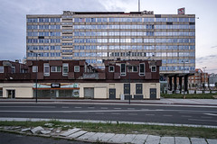 Polmag (Maciej Dusiciel) Tags: architecture architectural city urban street building modernism socialist modernist katowice travel poland polska europe world sony alpha
