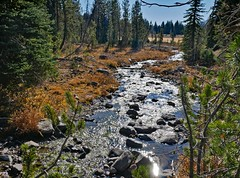 tl1110184SparkleCreek (thom52) Tags: central oregon bendor todd lake conc thom sparks hiking broken top fall