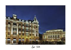 _DSC4796- (anahí tomillo) Tags: nikon d5100 ciudades city nocturnas night arquitectura architecture asturias spain