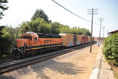 Veteran Power (Railfan Dan) Tags: bnsf bnsfrailway rochelleiltrains rochelleillinoistrains rochellerailroadpark aurorasub aurorasubdivision rochellelocal gp382
