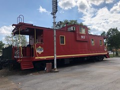 Red Caboose (King Kong 911) Tags: huntsville depot museum trains signal lights civilwar prison graffiti walls south women cotton minitures hotels