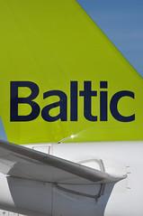 Baltic (A380spotter) Tags: turnaround tail tailfin verticalstabiliser empennage horizontalstabliser elevator tailplane rudder airbus a220 300 bombardieraerospace cseries cs300 bd5001a11 ylcsc airbaltic asairbalticcorporation bti bt bt65t bt0652 lgwrix gate5 stand05m pier1 southterminal london gatwick egkk lgw