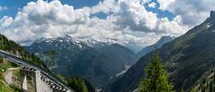 Lac d'Emosson 9 July 2018 (56)-Pano (BaggieWeave) Tags: switzerland emosson dam chatelard finhaut cantonofvalais ch montblanc