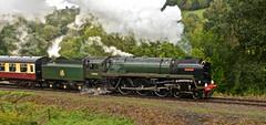 SEVERN VALLEY RAILWAY AUTUMN GALA (chris .p) Tags: nikon d610 engine steam autumn 2018 severnvalleyrailway 70000 uk england shropshire gala september