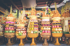 Traditional balinese offerings to Gods with fruits in basket. (Artem Bali) Tags: temple fruits offering oriental local fresh bali indonesia religious balinese asian food hindu asia religion tradition culture fruit traditional ceremony hinduism nature flower travel incense ceremonial colorful offerings ornament ritual island carving sacred canang mythical female road meditation festival southeastasia palm tropical orange pray cigarrete god offer buddhism prayer rice