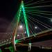 A bridge to near (malcbawn) Tags: night northernspire midnight bridge sunderland wear