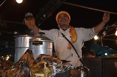 Street vendor - Marrakesh (Saf') Tags: marrakech marrakesh tanjia street vendor bouffe food moroccan jemaa el fna morocco maroc meat seller rue tangia
