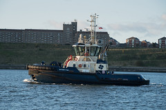 South Shields - Photocredit Neil King-51 (Neilfatea) Tags: southshields northeast workingboats tugs rivertyne water northsea