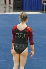 132A3737 (Knox Triathlon Dude) Tags: 2016 isu gymnastics leotard leotards sports usa illinoisstateuniversity women female college university legs thighs leotardo レオタード 레오타드 леотард костюмакробата