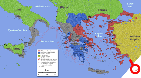 《刺客信條:奧德賽》背後的歷史:從荷馬史詩到伯羅奔尼撒戰爭