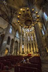 ... La arquitectura es una música de piedras y la música, una arquitectura de sonidos... Ludwig Van Beethoven... (franma65) Tags: barcelona born santamariadelmar catedraldelmar arquitectura