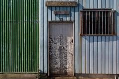 Kensington (Westographer) Tags: kensington melbourne australia westernsuburbs suburbia signage patina weathered door corrugatediron industrial oldschool factory
