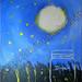 """Nite Lights"" by Jo M, acrylic, $155.00"