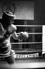 37200 - Guard (Diego Rosato) Tags: bianconero blackwhite nikon d700 2470mm tamron rawtherapee ring match incontro boxe boxing pugilato boxelatina guard guardia